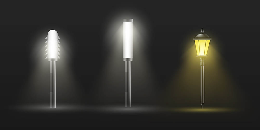 Illuminazione degli spazi esterni